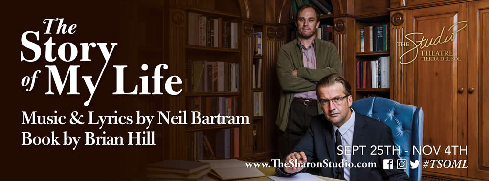 The Story of My Life: Music & Lyrics by Neil Bartram, Book my Brian Hill